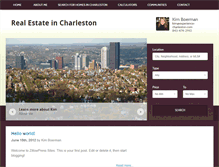 Tablet Preview of charlestonproperty.info